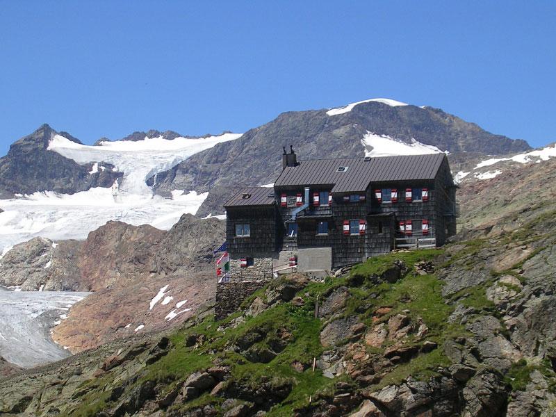 Gletscher Teplitzerhütte